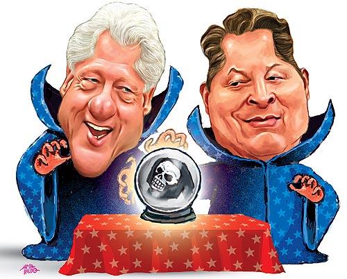 Al Gore Bill Clinton