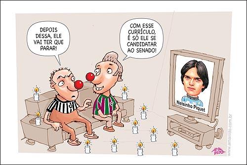 Botafogo Fluminense Nelsinho Piquet
