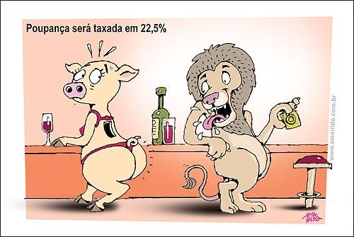 Leao IR Porquinha Poupança Camisinha Bar