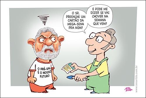 Lula pre-sal mega-sena
