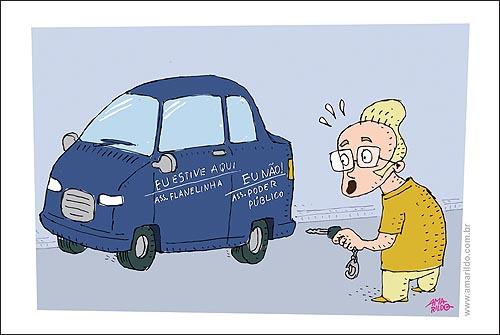 Flanelinha Carro Riscado Poder Publico
