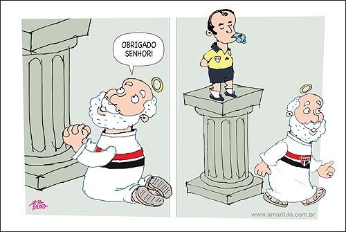 Futebol Sao Paulo Juiz Reza Senhor