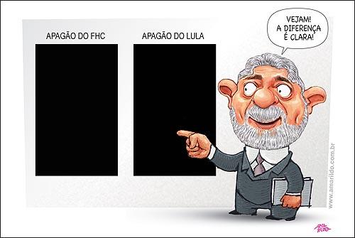 Lula Apagao x FHC Diferente