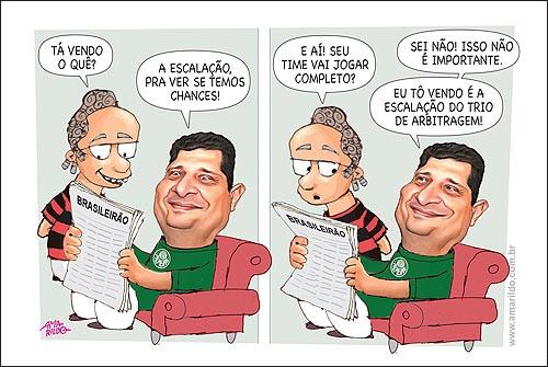 Palmeiras Caca Sofa Jornal Juiz Arbitragem Escalacao