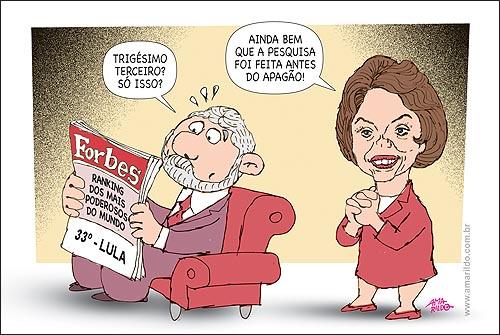 Lula Dilma Apagao 33 mais poderoso Sofa Jornal