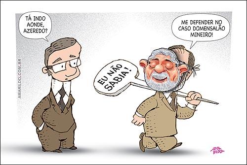 Eduardo Azeredo Mensalao Mineiro Lula Mascara3