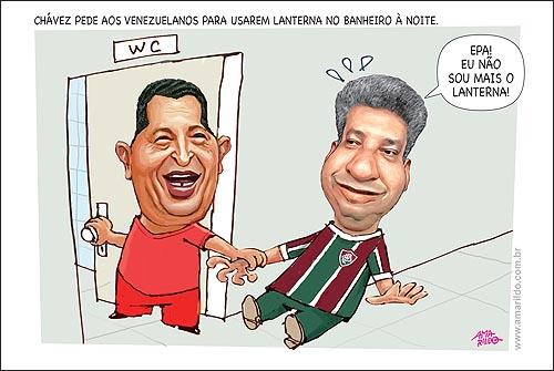 Chavez Lanterna Banheiro Fluminense