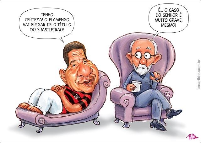 Joel santana Psicanalista Flamengo vai brigar p titulo b