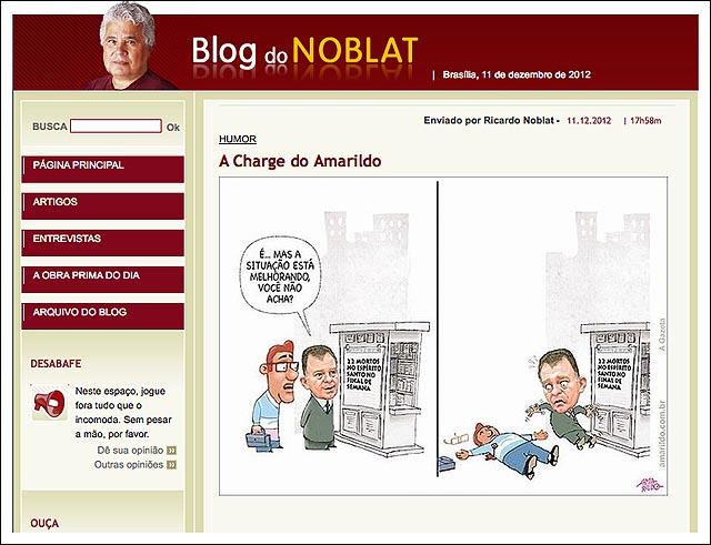 Violencia Grande Vitoria blog noblat