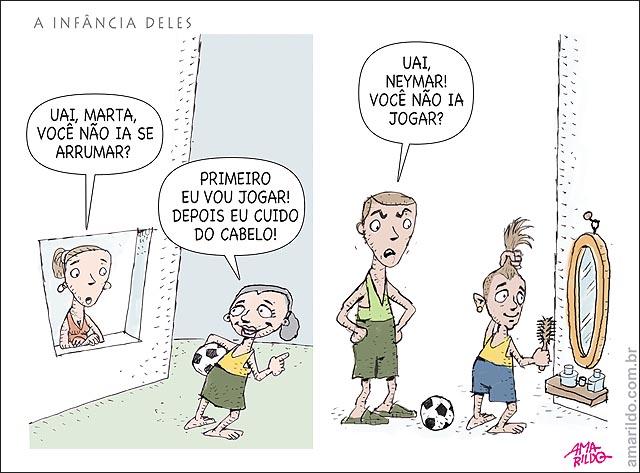 Vaidade Futebol Marta x Neymar
