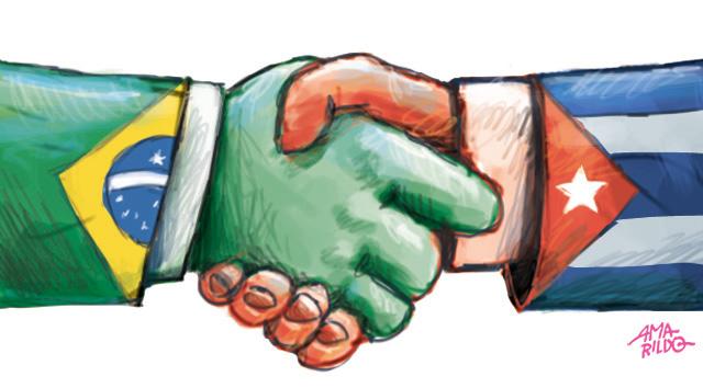 Cumprimento maos brasil cuba olimpiada arcos olimpicos