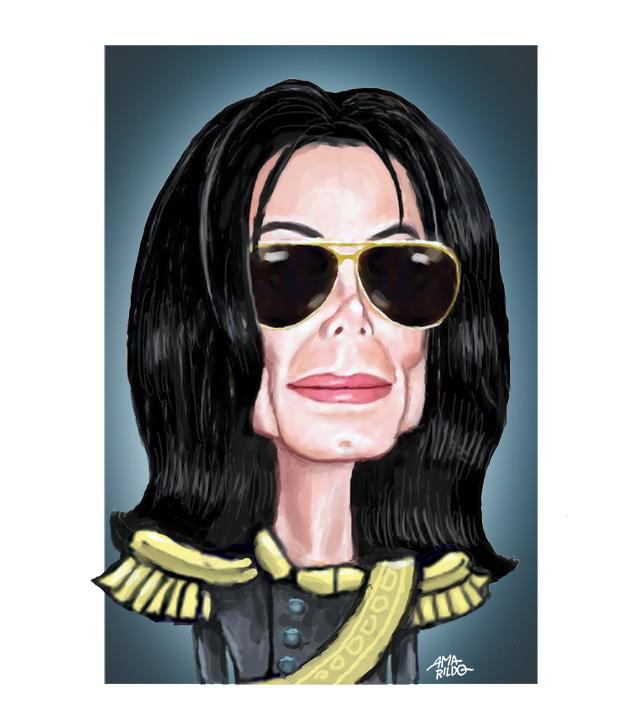 Michael Jackson - Caricatura