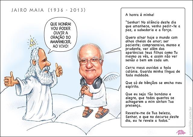 Morre Jairo maia Ceu deus Nuvem Radio Oracao do amanhecer