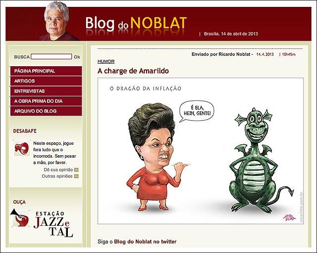 blog noblat dilma dragao