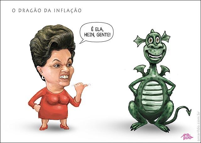 Dilma dragao da inflacao e ela hein gente