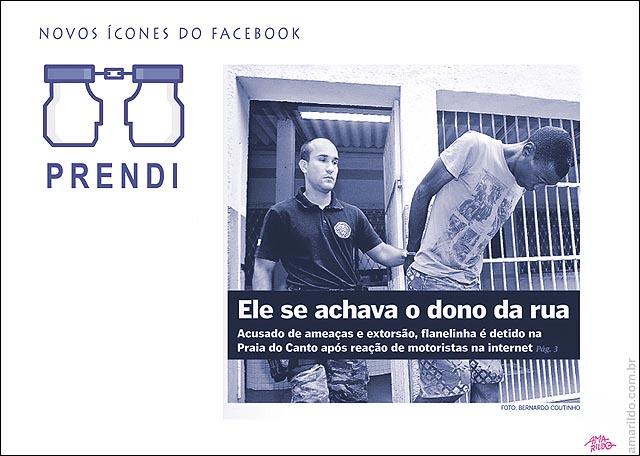 Facebook preso denunciado prendi curti