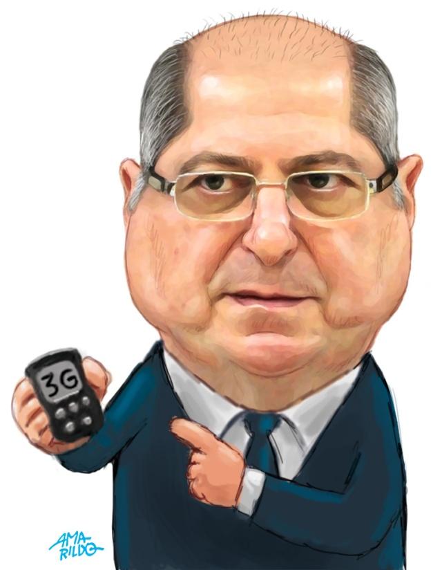 Paulo Bernardo - Caricatura