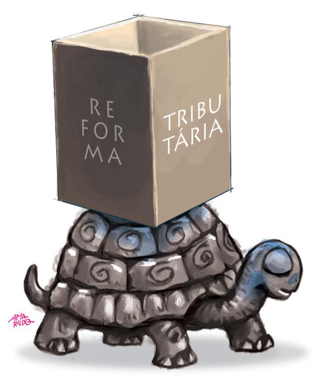 TRIBUNA DA INTERNET | Bolsonaro reclama que terá dificuldades para aprovar  reforma tributária no Brasil