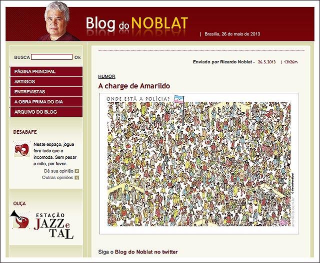 blog noblat Onde esta wally policia