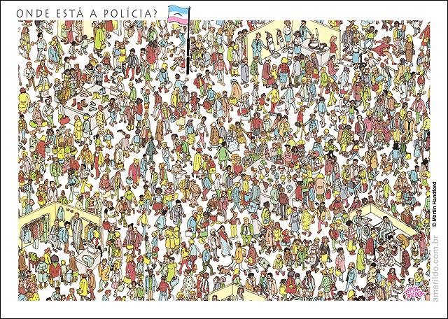 Onde está o PM Policia Seguranca Violencia Wally