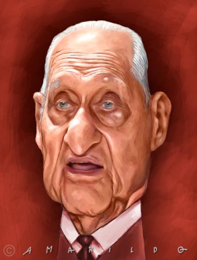 Joao Havelange - Caricatura copy