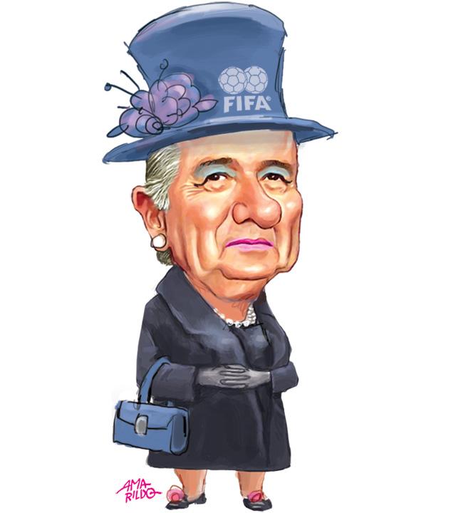Blatter tia velha fifa