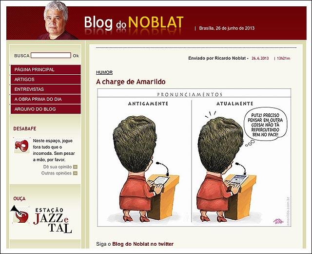 blog noblat dilma ipad pronunciamento
