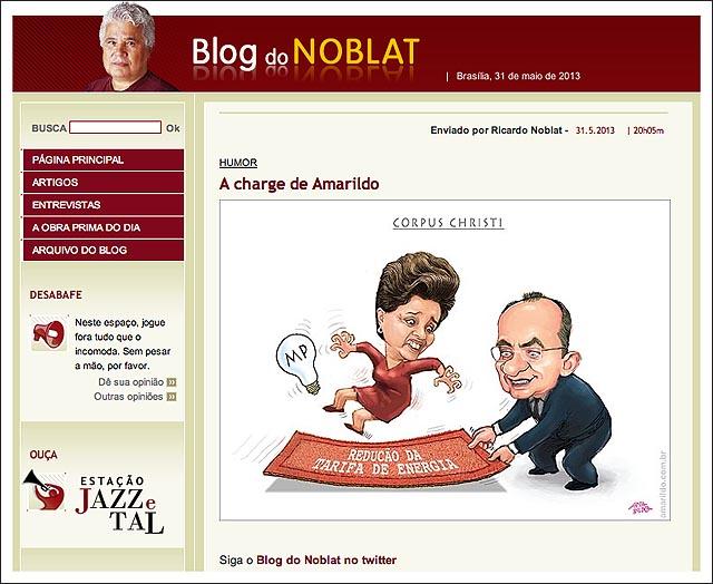 blog noblat dilma tapete renan