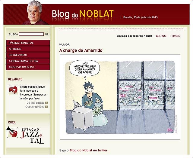 blog noblat politico cofre protesto