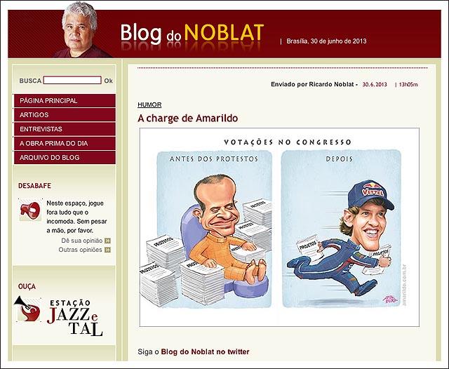 blog noblat rubinho congresso