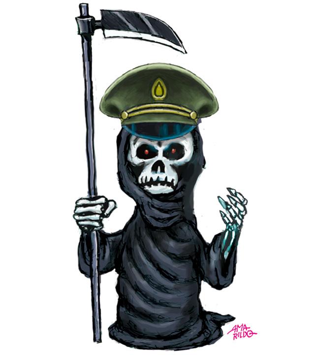 Morte Quepe militar