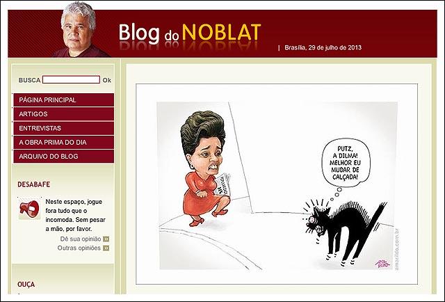 blog coluna Noblat Globo Gazeta