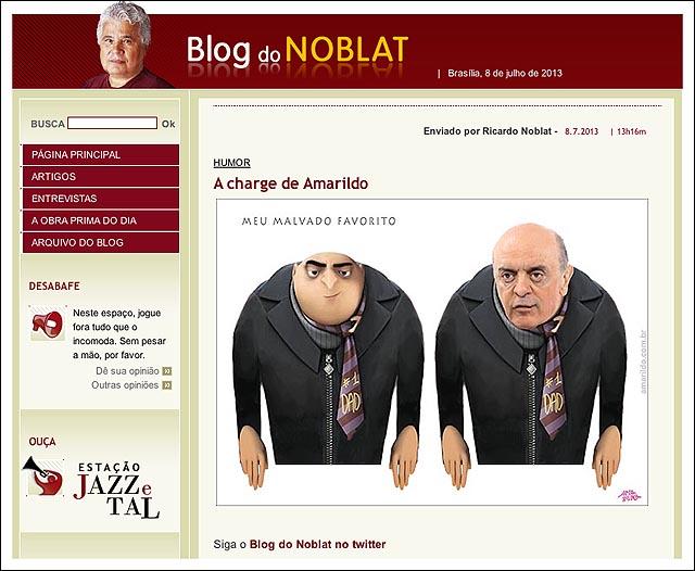 blog noblat serra meu malvado favorito