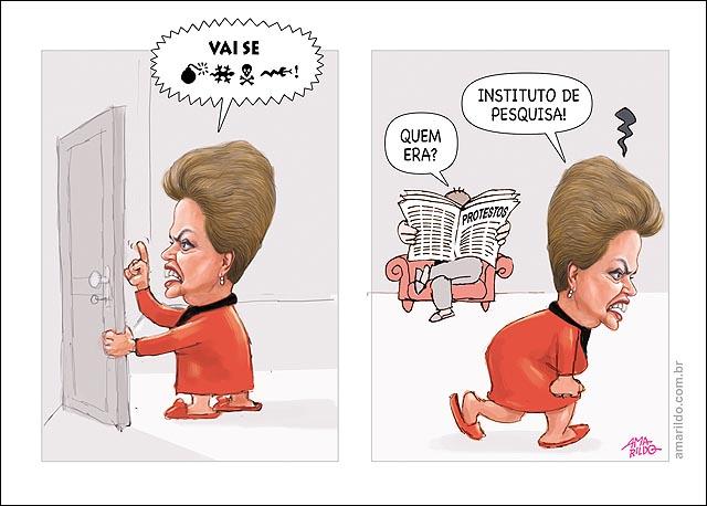 Dilma popularidade queda Instituto de Pesquisa Xinga