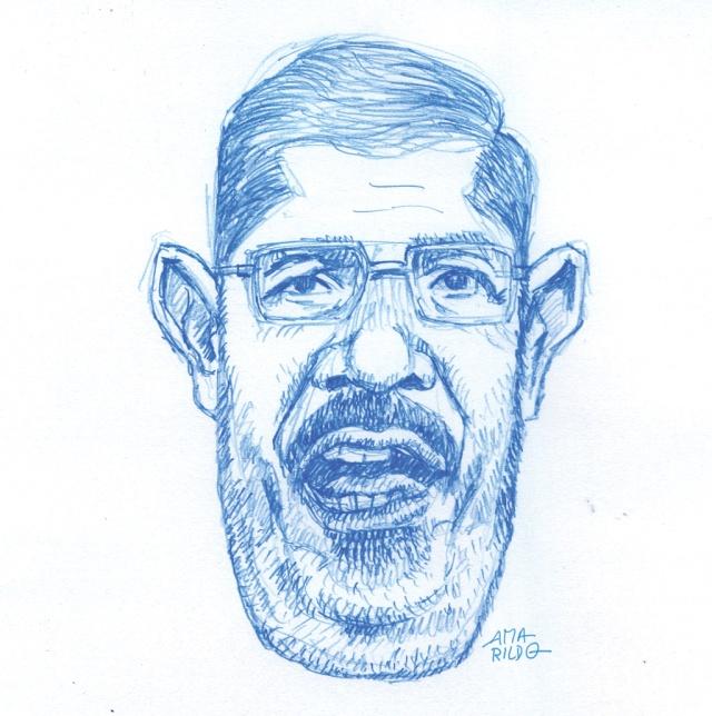 Mohamed Morsi Sketch 2 copy