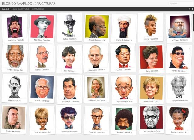 Blog de Caricaturas Amarildo Blogspot