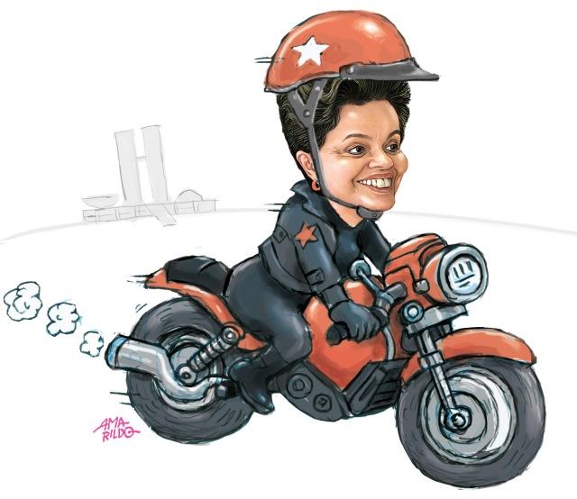 Dilma Motoqueira