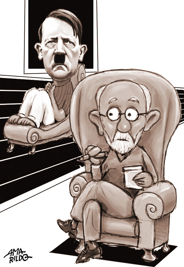 Freud Hitler psicanalise