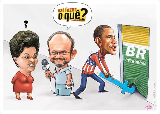 Obama espiona Petrobras Dilma Vai fazer o que Ernesto Paglia