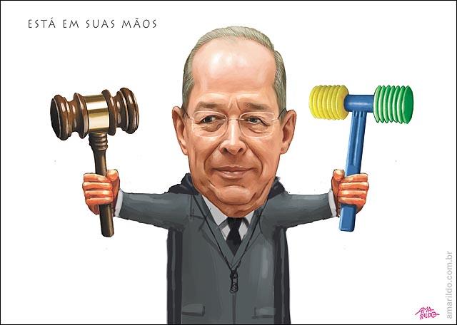 Celso de mello Martelo juiz sanfonado Dirceu embargos infringentes