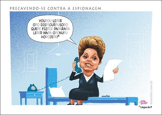 Dilma Discurso Onu Lingua do P Espionagem