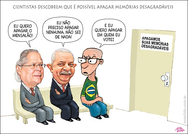 Cientista apagam memoria desagradavel Lula