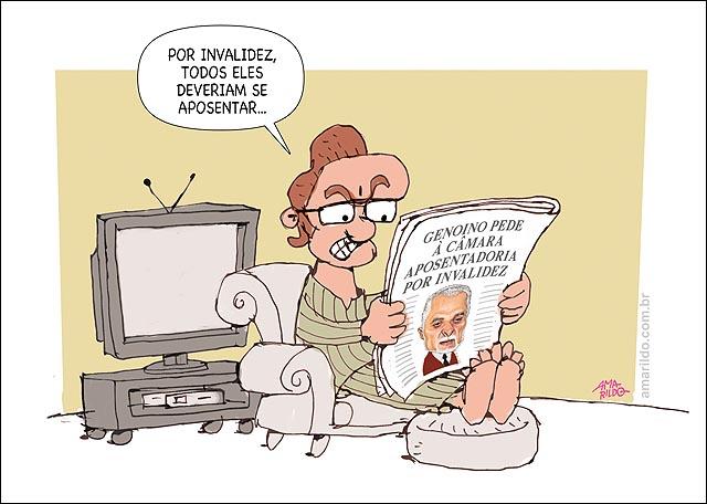 Gonoino aposentadoria p invalidez congresso todo TV sofa