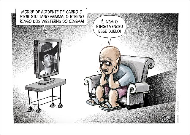 Morre Giuliano Gemma Acidente transito duelo perde tv