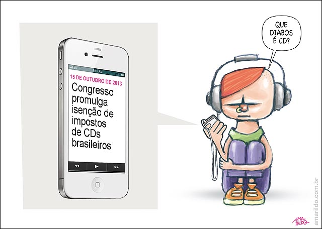 CD E DVD congresso isencao imposto noticia iPhone