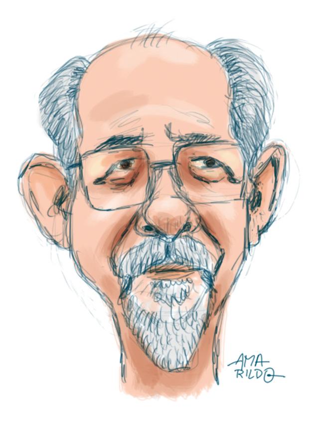 Carlos Bonisenha - Cacareco - Caricatura 2
