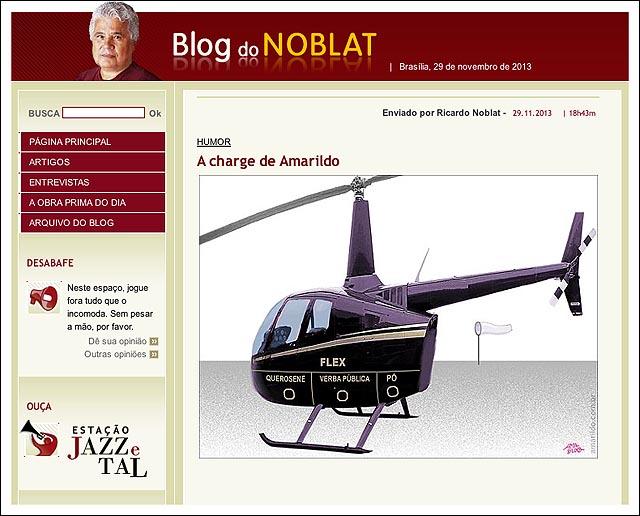 blog NOBLAT HELICOPTERO