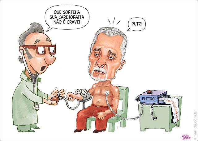 Genoino Medico Mede pressao Nao e grave volta para cadeia