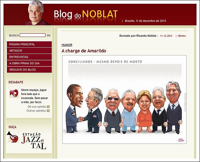 blog Noblat velorio mandela