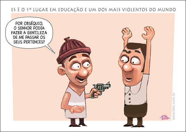 ES primeiro educacao e violencia assalto